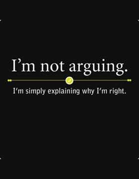 I'm right!