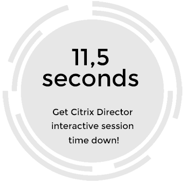 Citrix Director: Interactive Session and how to reduce the time
